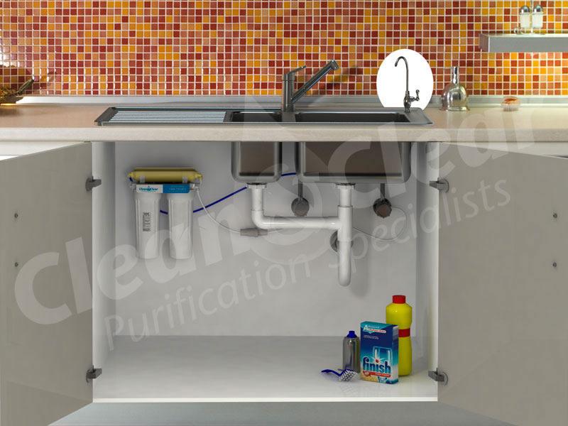 Triple Stage Under Sink Filter